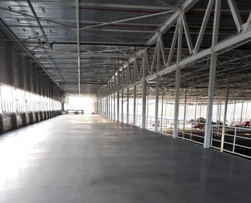Betonvloer distributiecentrum - Loos Betonvloeren