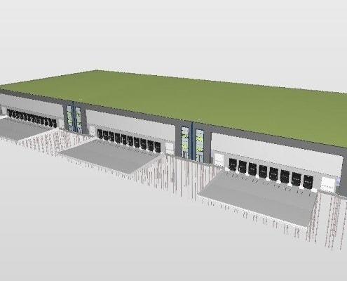 Beton voor distributiecentrum Amsterdam - Loos Betonvloeren