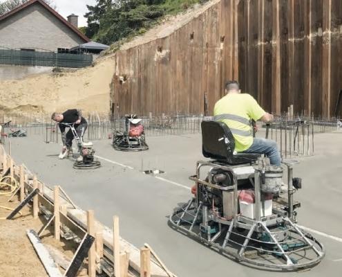 Schoon beton voor Villa 22 - Loos Betonvloeren Zuid
